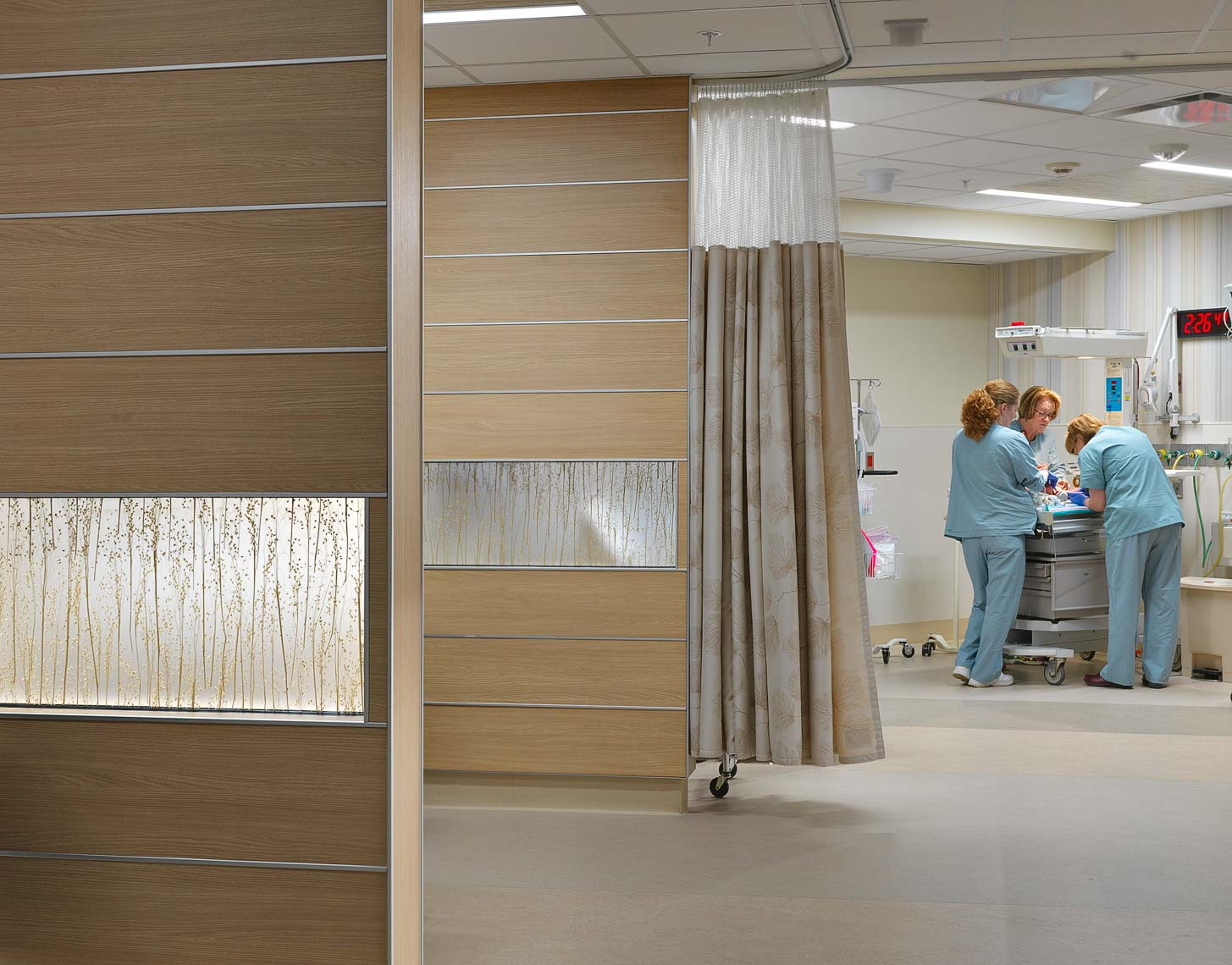 Special Care Nursery Henry Ford Allegiance Health | Maylone Architectural Photo