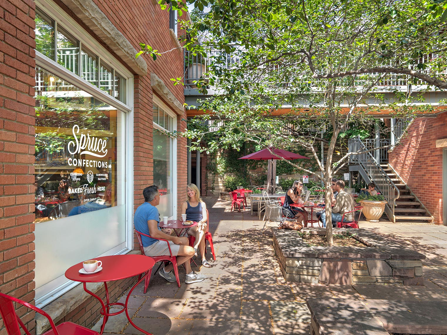 Pearl Street Retail | Maylone Architectural Photo