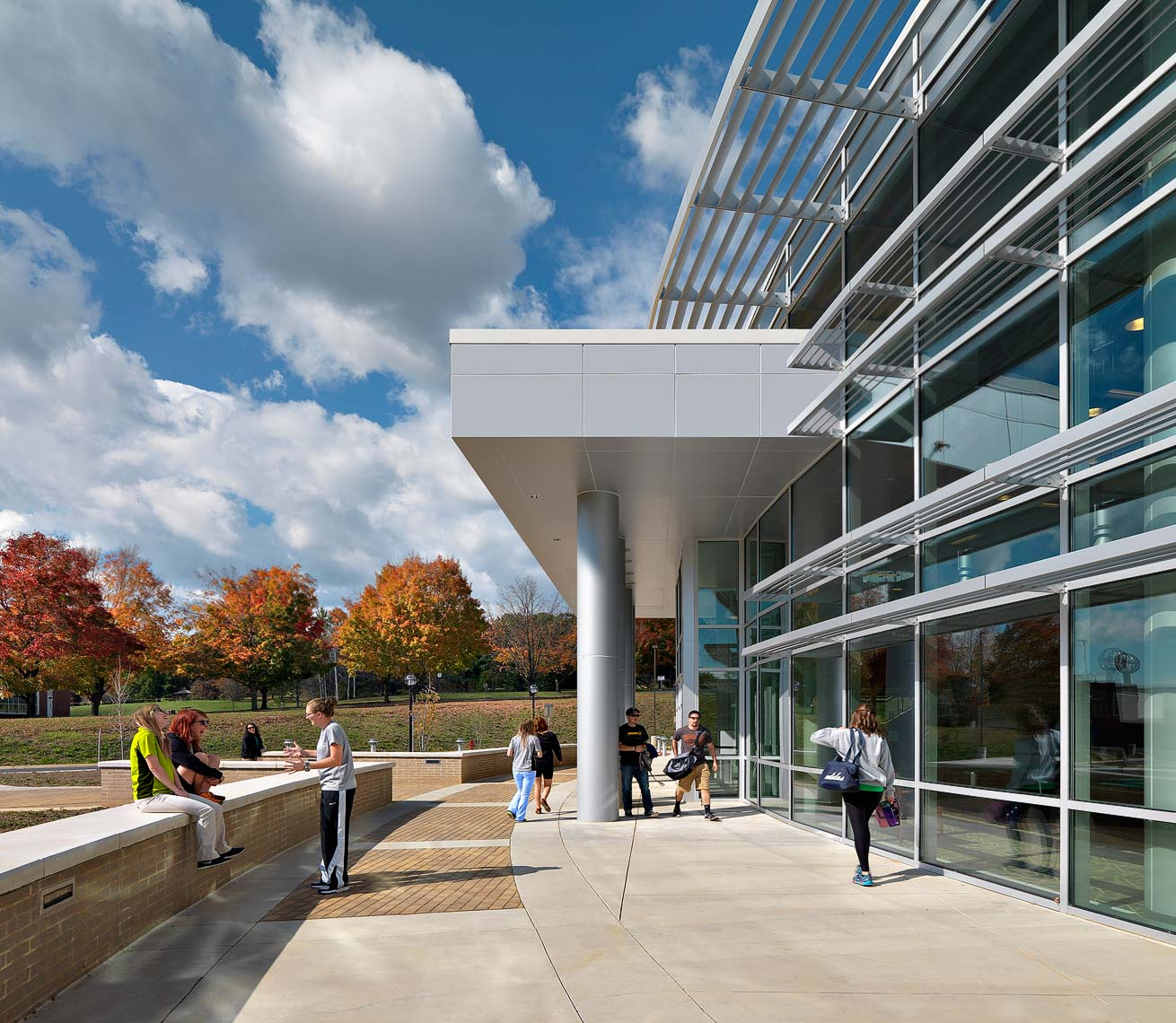 Blue Ridge Community College | Maylone Architectural Photo