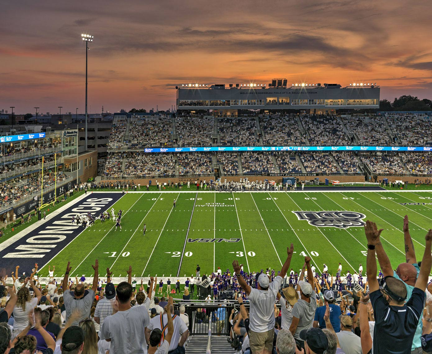 Old Dominion University Ballard Stadium | Maylone Architectural Photo