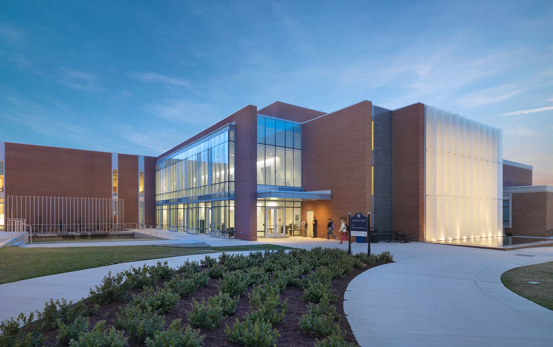 Longwood University Bedford Hall | Maylone Architectural Photo