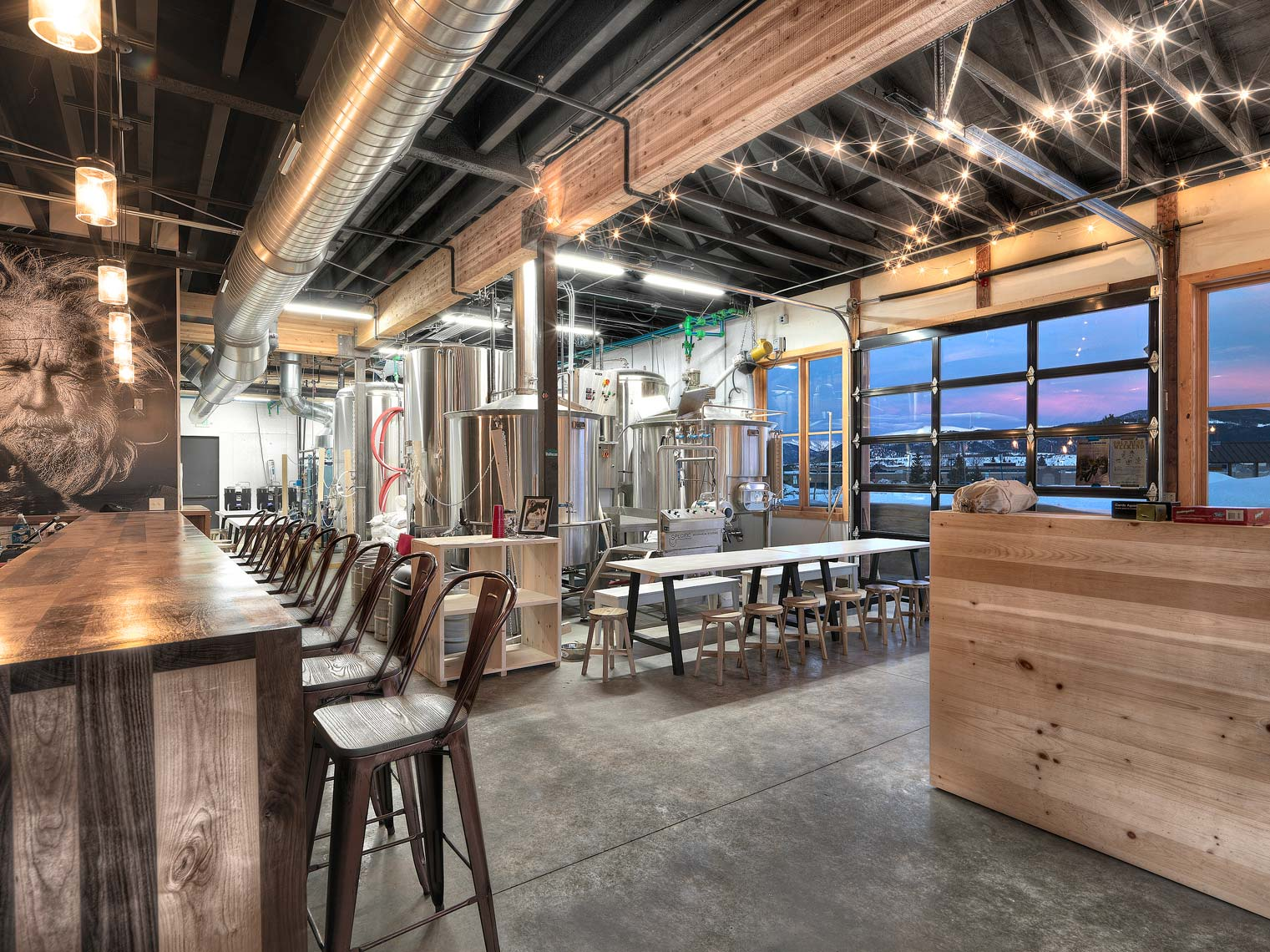 Outer Range Brewery | Maylone Architectural Photo