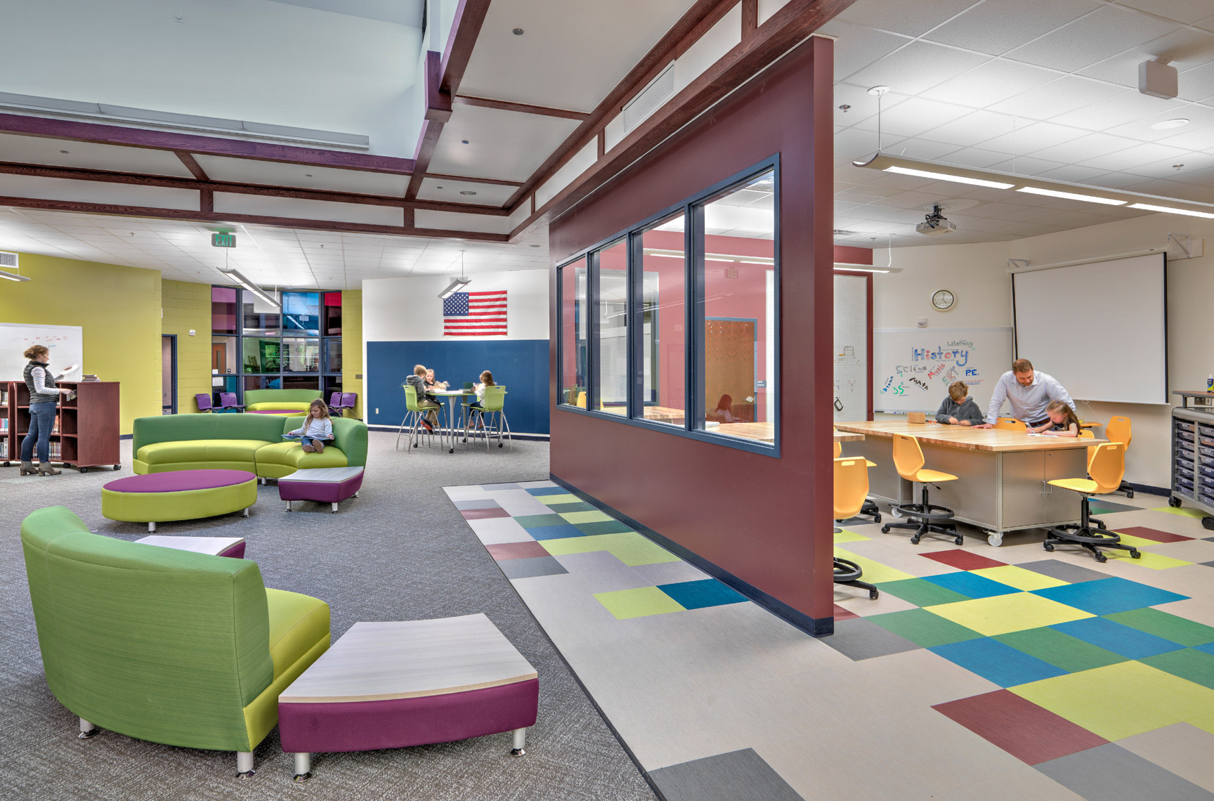 Cherry Creek Schools | Maylone Architectural Photo
