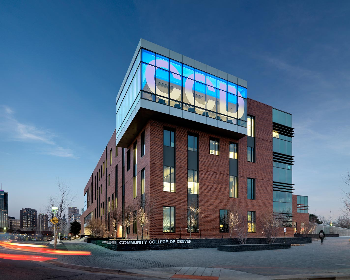 Community College of Denver Academic Services Center |  Photo Maylone Architectural