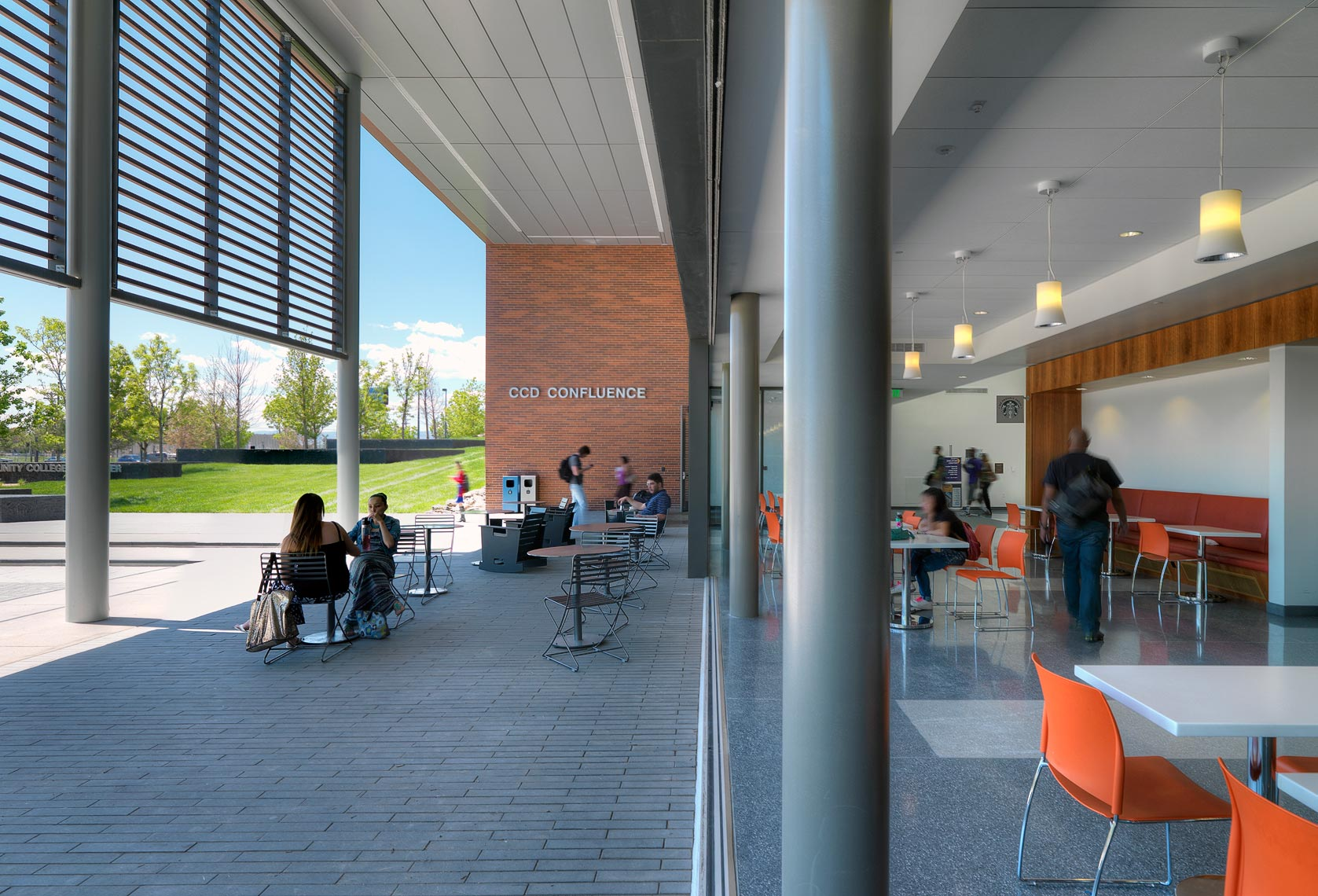 Community College of Denver | Maylone Architectural Photo