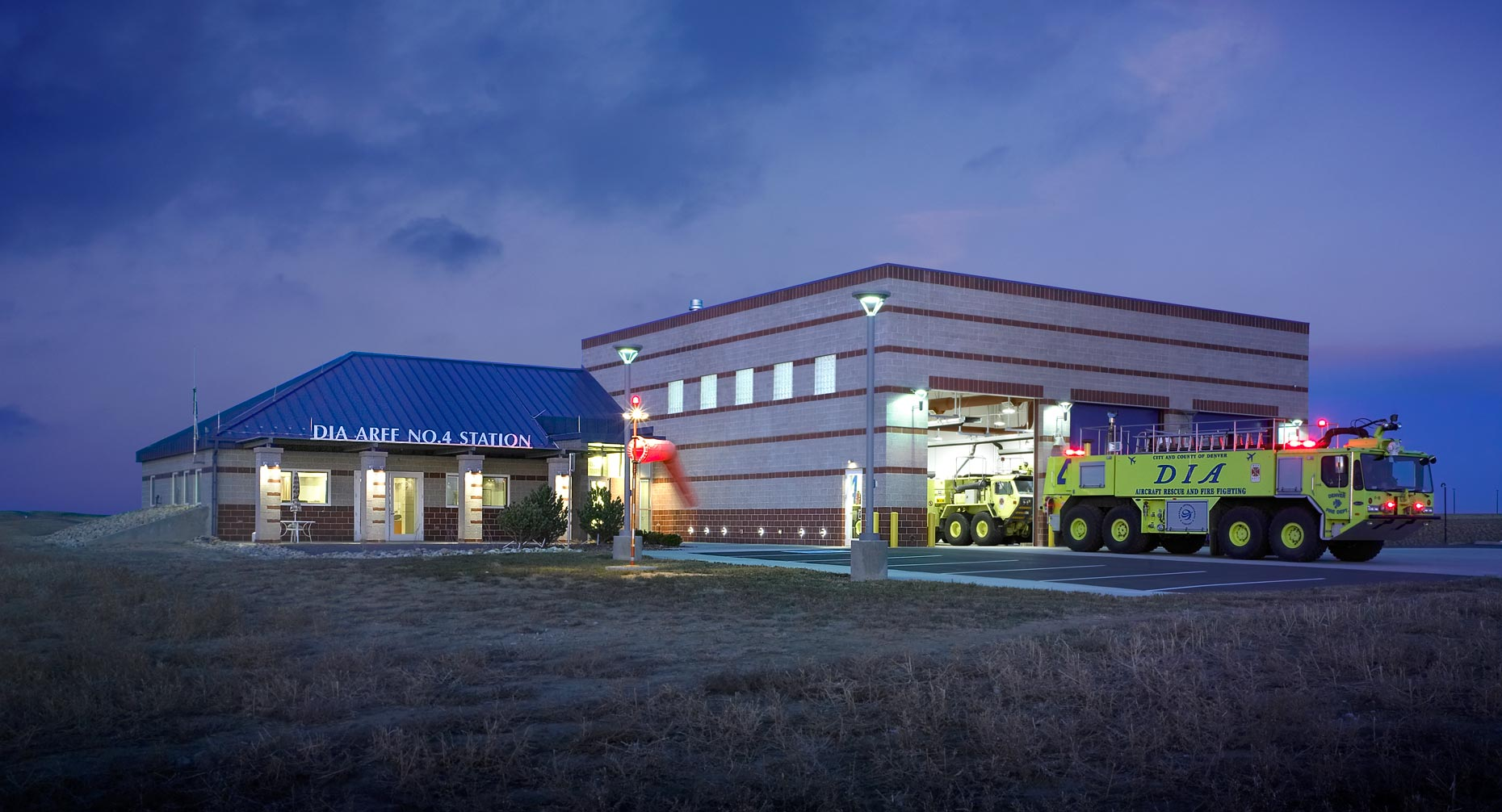 DIA Fire Station