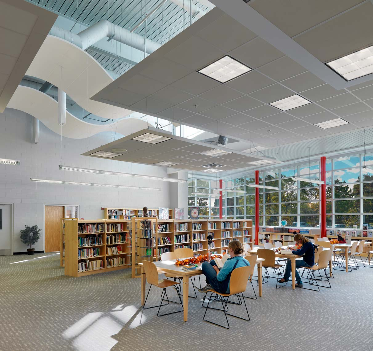 Grosse Isle High School | Maylone Architectural Photo