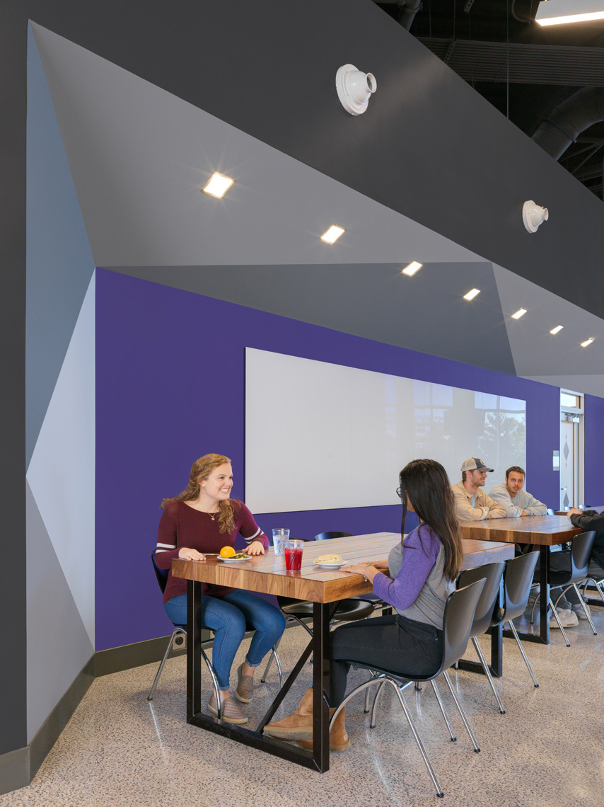 James Madison University D Hall | Maylone Architectural Photo