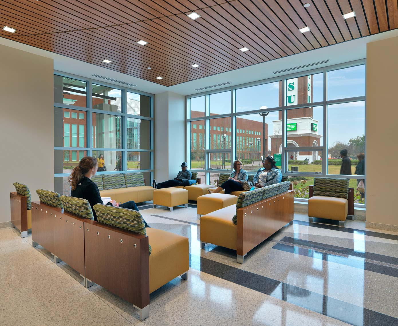 Norfolk State University | Maylone Architectural Photo