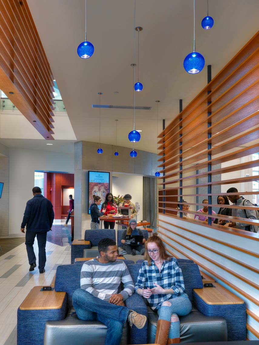 Old Dominion University Broderick Dining | Photo Maylone Architectural