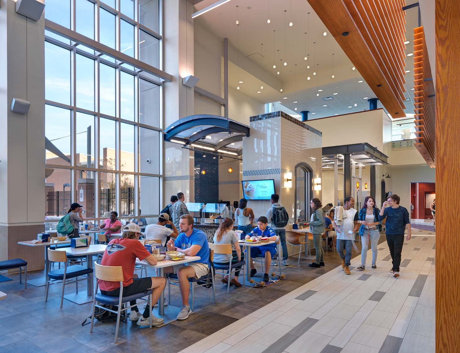 ODU Broderick Dining | Maylone Architectural Photo