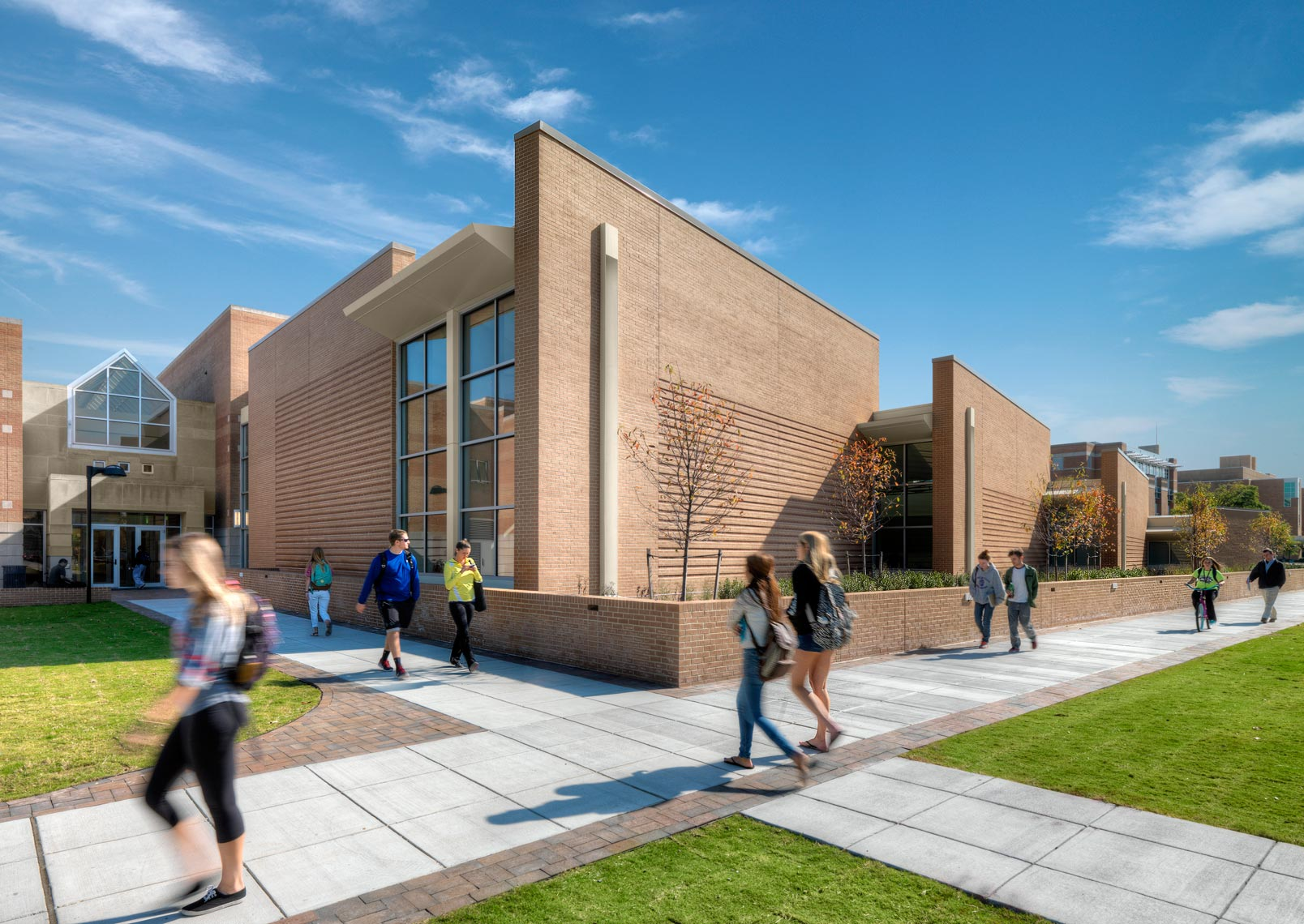 Old Dominion University Diehn Arts | Maylone Architectural Photo