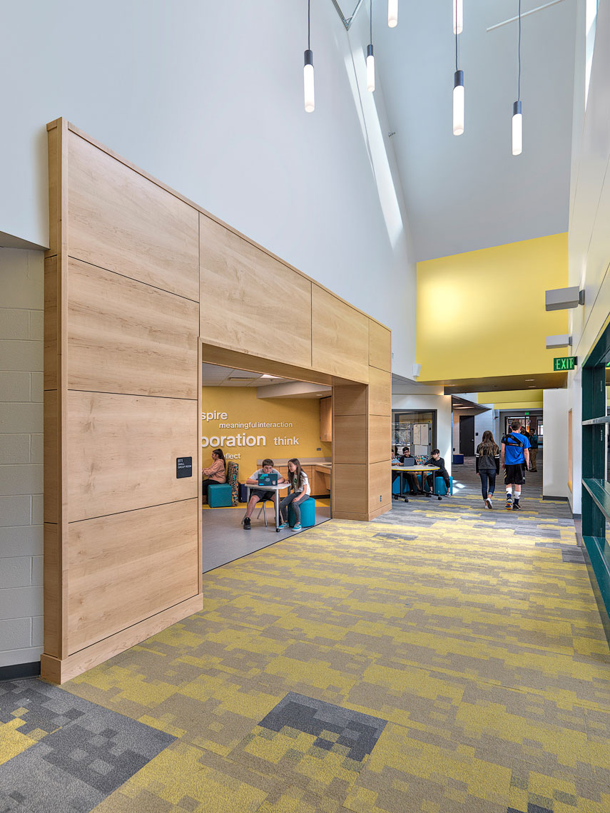 Angevine Middle School OZ Architecture | Maylone Architectural Photo
