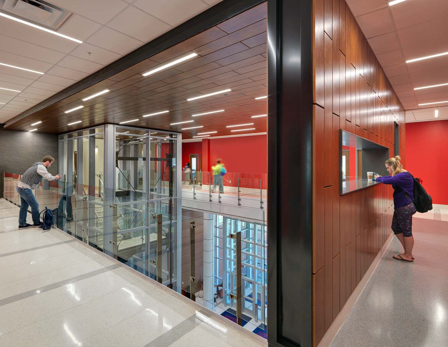Radford University CHBS | Maylone Architectural Photo