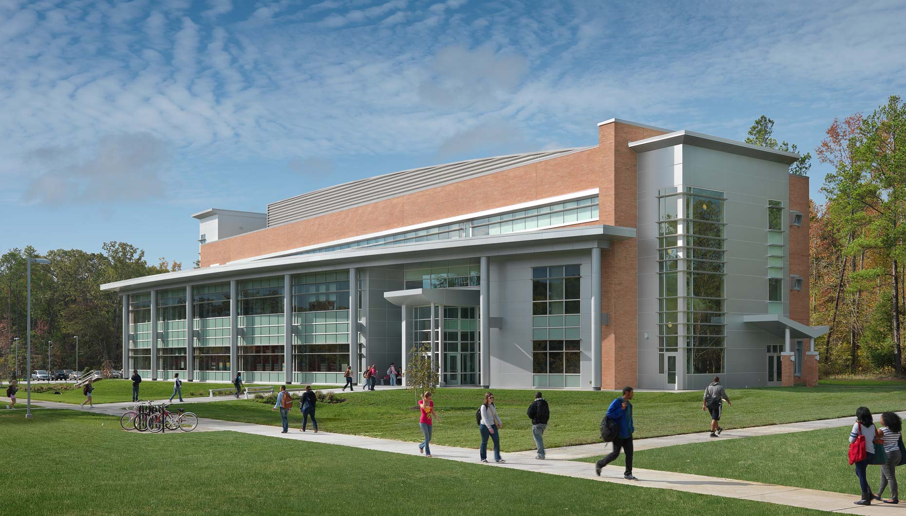 Richard Bland College of the College of William + Mary | Maylone Architectural Photo