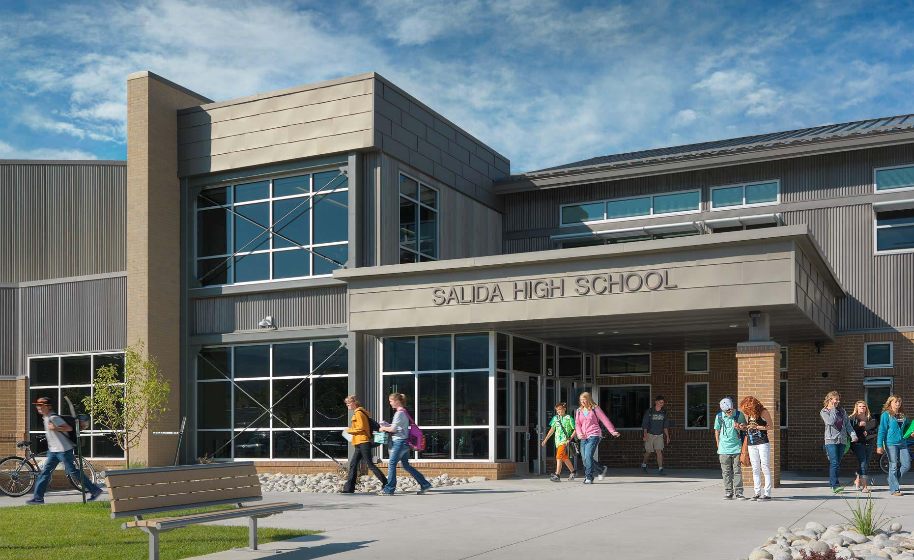 Salida Colorado High School | Maylone Architectural Photo